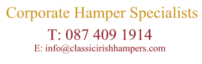Corporate Hamper Specialists - Classic Irish Hampers delivered to Ireland & UK